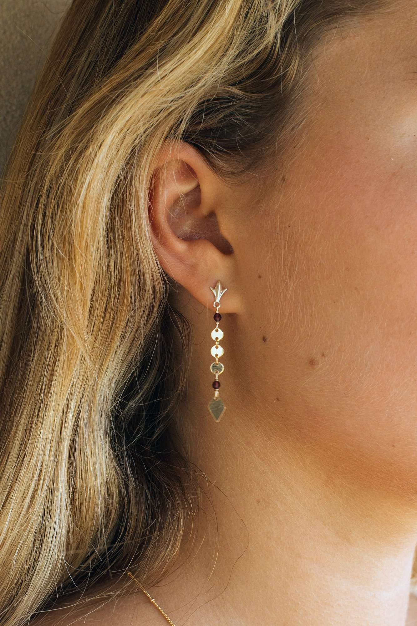 Gold Fill High As A Kite Studs, Earrings with  by Lunarsea Designs
