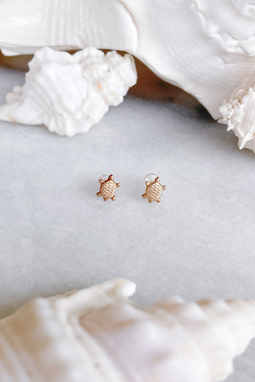 turtle gold fill studs
