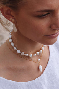 Pearl Choker, Necklace with  by Lunarsea Designs