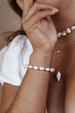 Pearl Bracelet, Bracelet with  by Lunarsea Designs