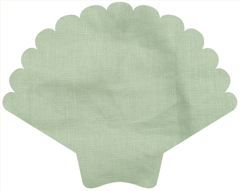 The Skirt - Mint Linen