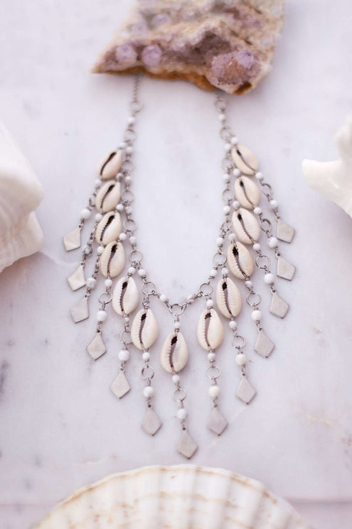 Cowrie Bridal Statement Choker/Necklace
