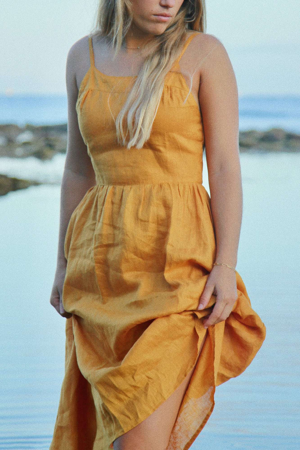 The Dress - Sunflower Linen