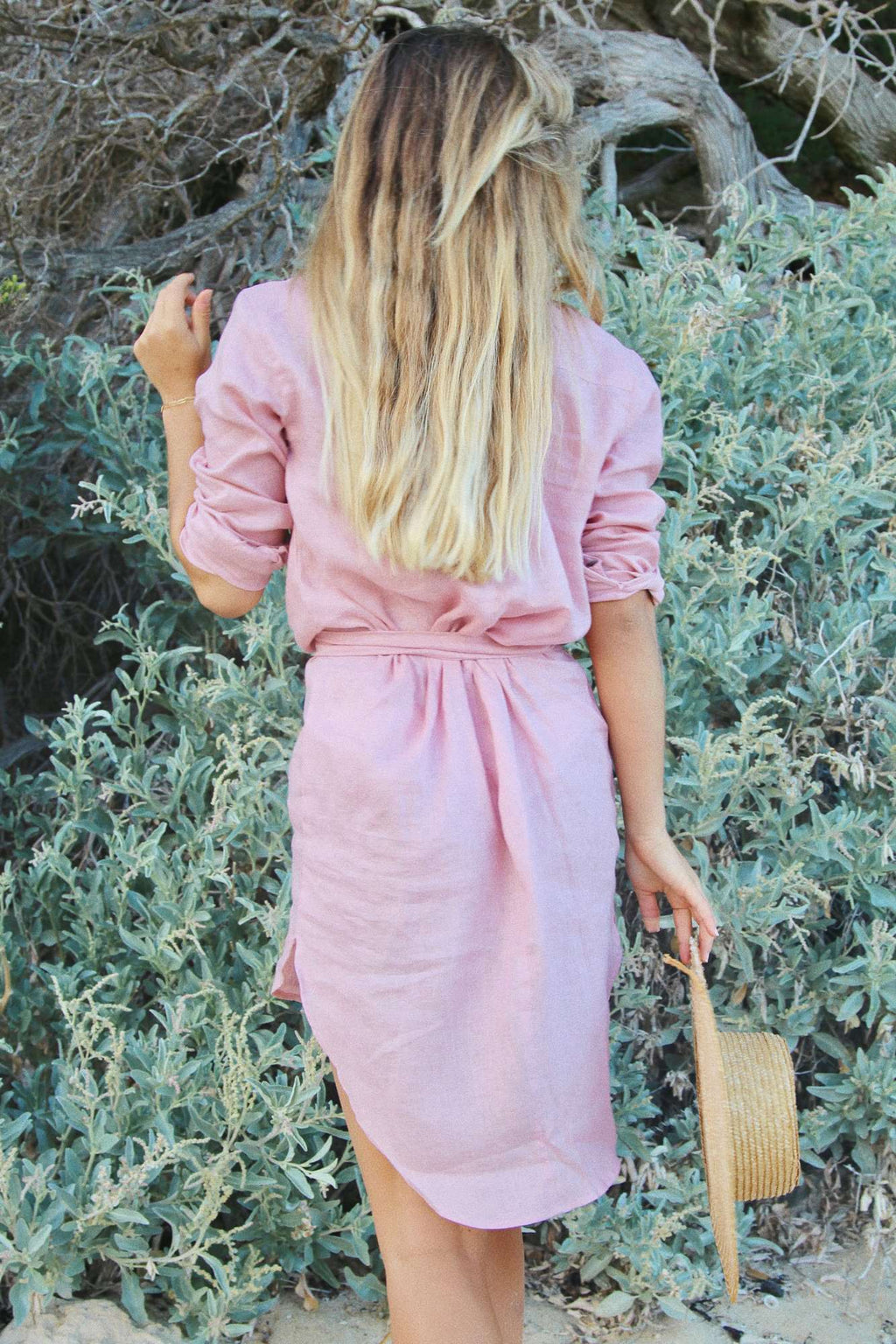 The Shirt Dress - Dusk