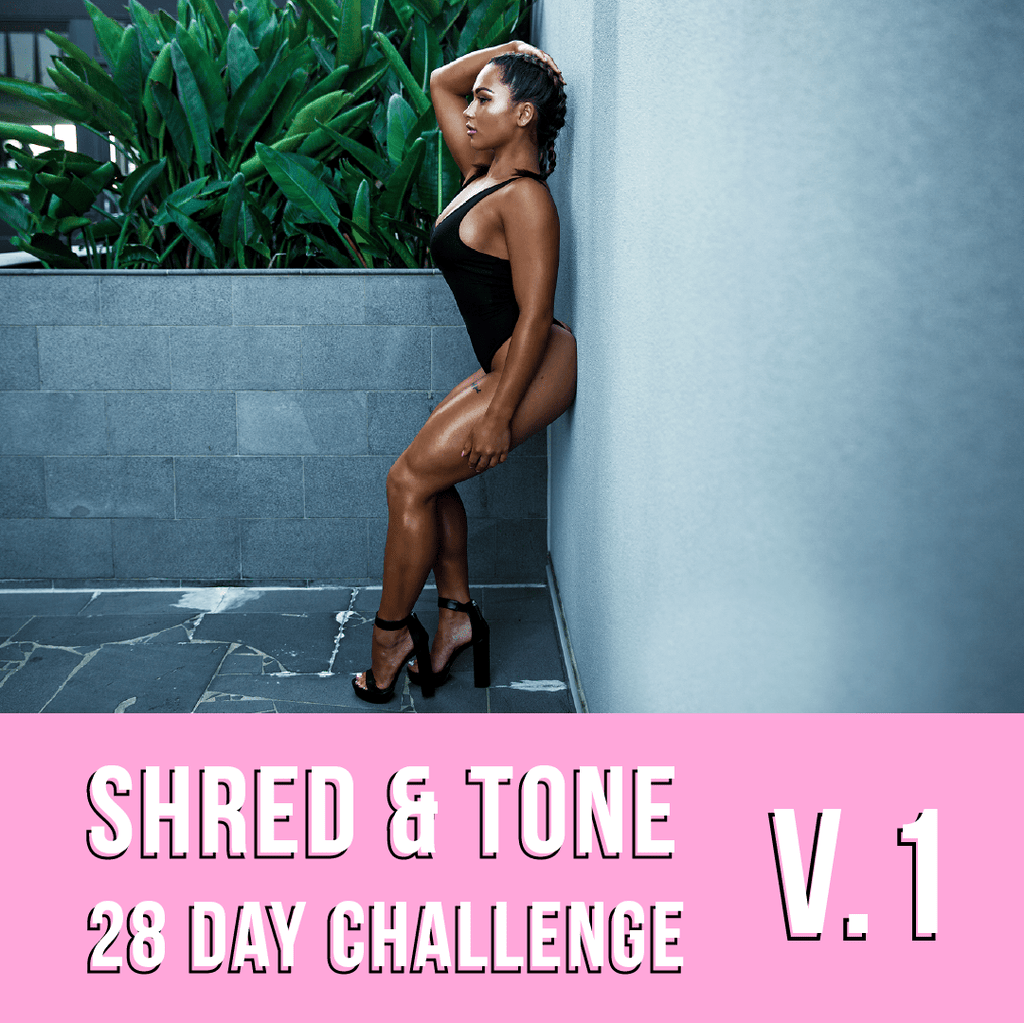 SHRED & TONE 28 DAY CHALLENGE! - Lisa Trujillo Active Wear