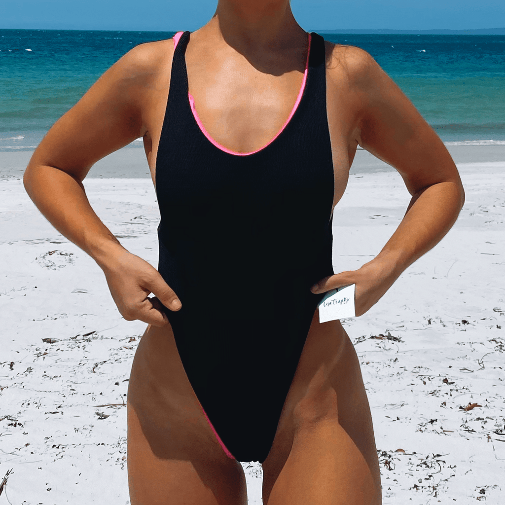 The LDF - Lisa's Dental Floss (Reversible Bodysuit) - Lisa Trujillo Active Wear