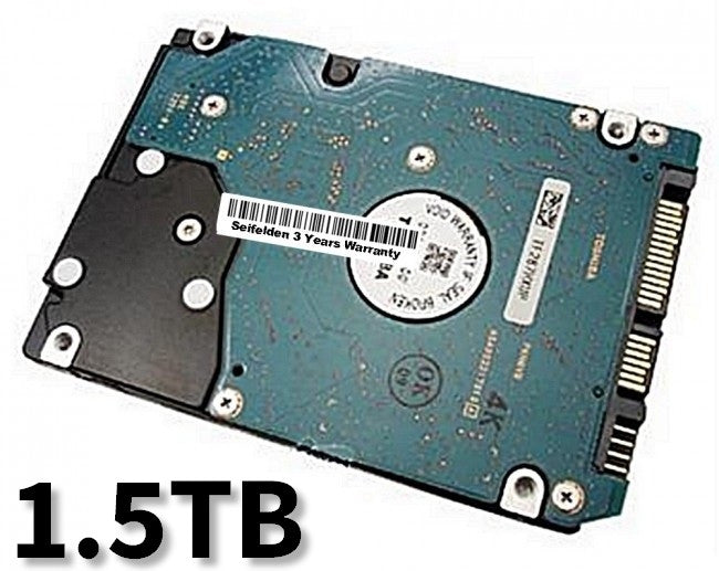 1.5TB Hard Disk Drive for Gateway M-6814M Laptop Notebook with 3 Year Warranty from Seifelden (Certified Refurbished)