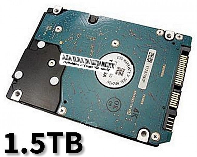 1.5TB Hard Disk Drive for Acer Aspire 5538 Laptop Notebook with 3 Year Warranty from Seifelden (Certified Refurbished)