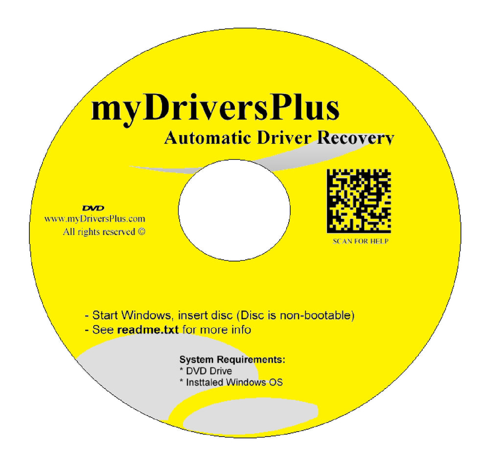 eMachines W4630 Drivers Recovery Restore Resource Utilities Software with Automatic One-Click Installer Unattended for Internet, Wi-Fi, Ethernet, Video, Sound, Audio, USB, Devices, Chipset ...(DVD Restore Disc/Disk; fix your drivers problems for Windows