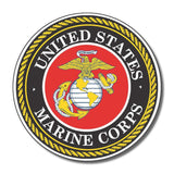 US Marines Corps USA sticker decal white gloss high grade vinyl