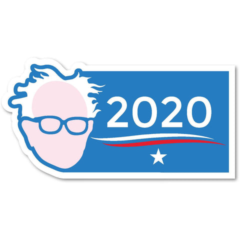 "Bernie Sanders for President 2020 Trump Clinton 7""x3.5"" bumper sticker decal"