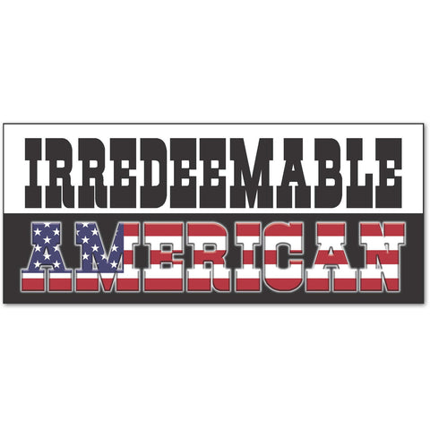 Irredeemable Deplorable American Trump Hillary Clinton 2016