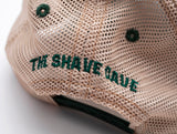 The Shave Cave Trucker Snapback Green