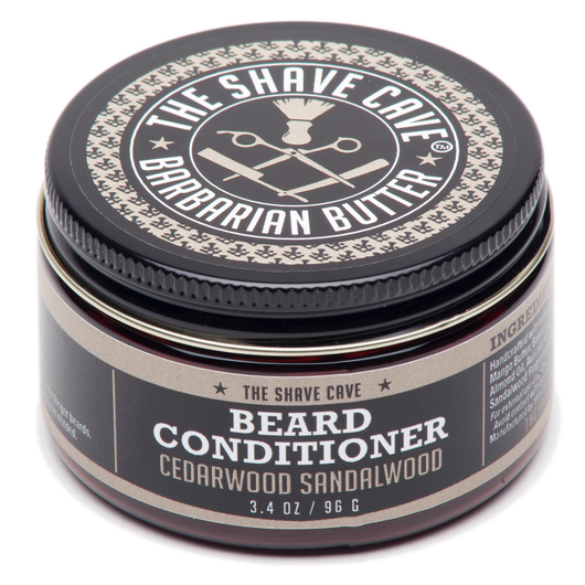 Barbarian Butter - Beard Conditioner - Cedarwood Sandalwood - 3.4oz