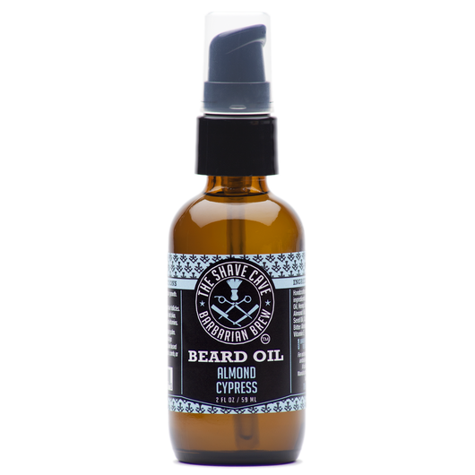 Barbarian Brew - Beard Oil - Almond Cypress - 2.0oz