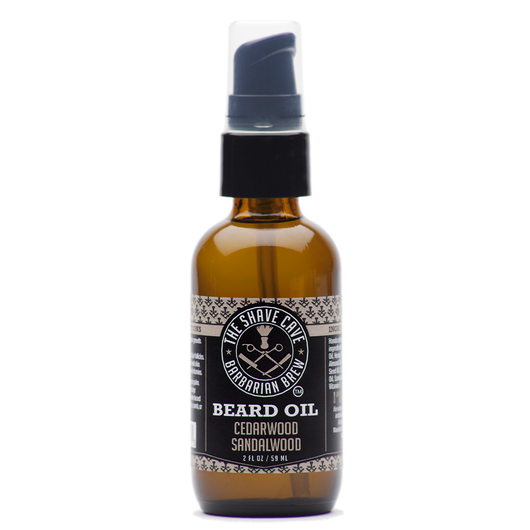 Barbarian Brew - Beard Oil - Cedarwood Sandalwood - 2.0oz