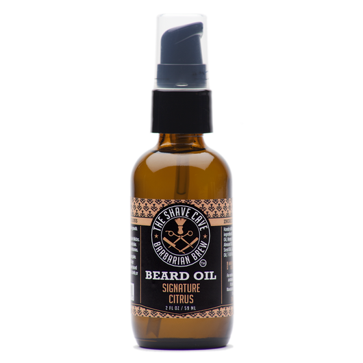 Barbarian Brew - Beard Oil - Signature Citrus - 2.0oz