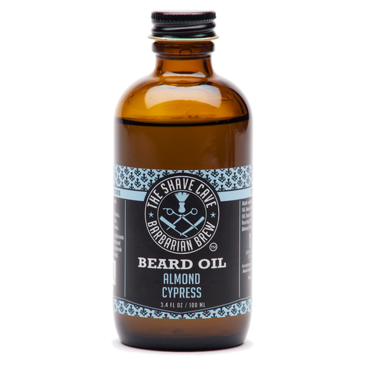 Barbarian Brew - Beard Oil - Almond Cypress - 3.4oz