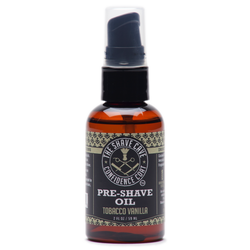 Confidence Coat - Pre Shave Oil - Tobacco Vanilla - 2.0oz