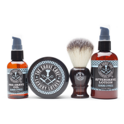 Shave Bundle - Almond Cypress