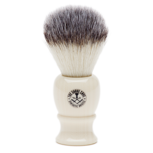 Synthetic Shave Brush - Ivory