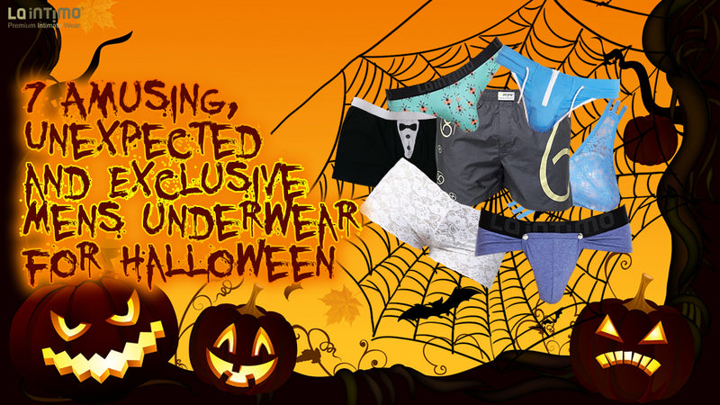 EXCLUSIVE MENS UNDERWEAR FOR HALLOWEEN