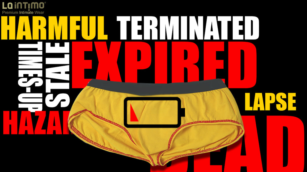 YES! YOU MUST LOOK AFTER THE EXPIRY DATE OF UNDERWEAR