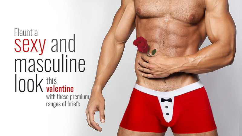 Flaunt a sexy and masculine look this valentine with these premium ranges of briefs