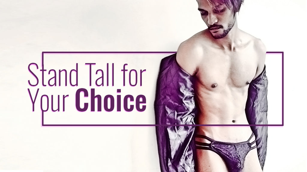 Famous Model Rohit Say's - Stand Tall for Your Choice