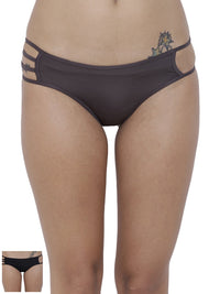 Erotico Exotic Bikini Panty (Combo Pack of 2)