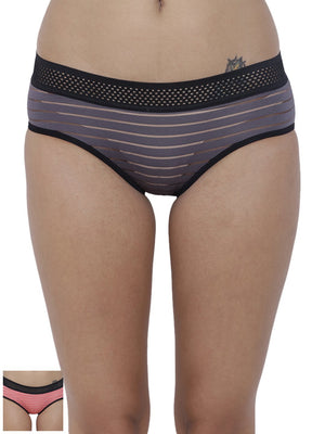 Frio Hot Briefs Panty (Combo Pack of 2)