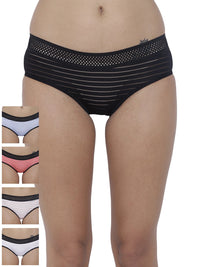 Frio Hot Briefs Panty (Combo Pack of 5)
