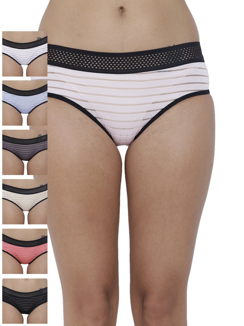 Frio Hot Briefs Panty (Combo Pack of 7)