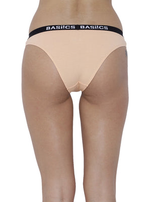 BASIICS Female Skin Dulce Candy Brief Panty