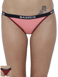 Fashionable Briefs Panty (Combo Pack of 2)