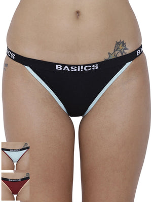 Fashionable Briefs Panty (Combo Pack of 3)