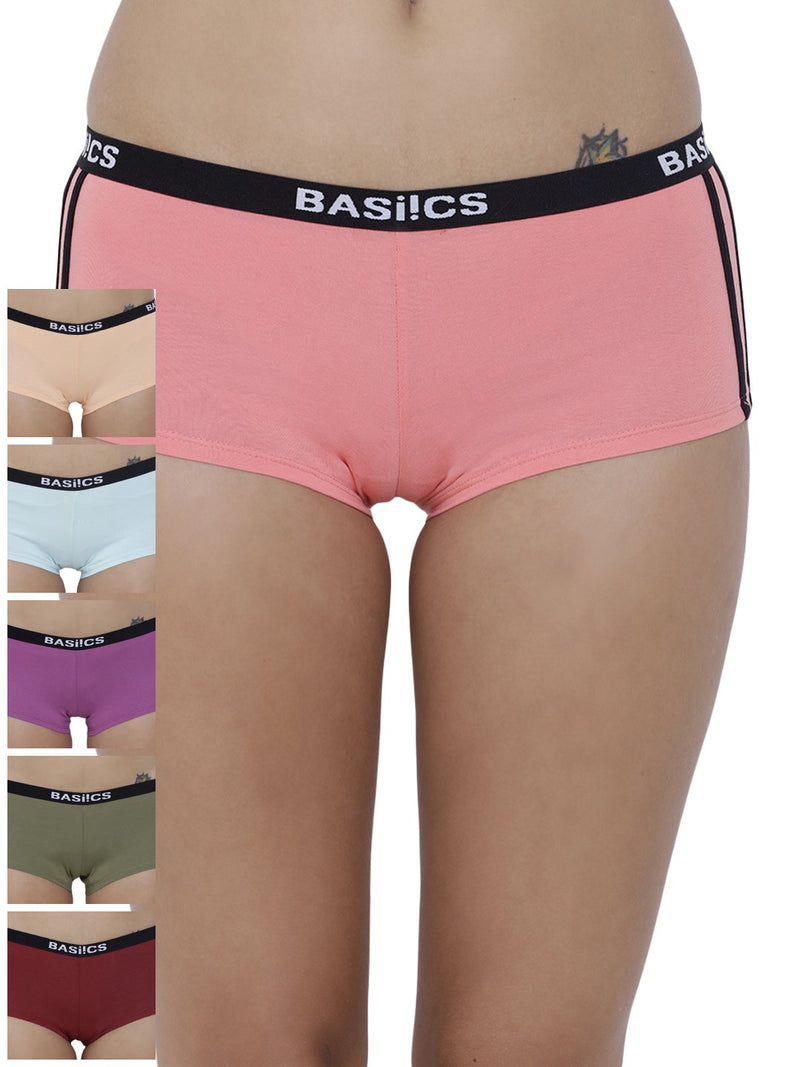 Alegria Joy Boyshorts Panty (Combo Pack of 6)