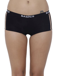 BASIICS Female Black Alegria Joy Boyshort Panty
