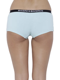 BASIICS Female Sea Green Alegria Joy Boyshort Panty