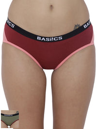 Picante Spicy Hipster Panty (Combo Pack of 2)