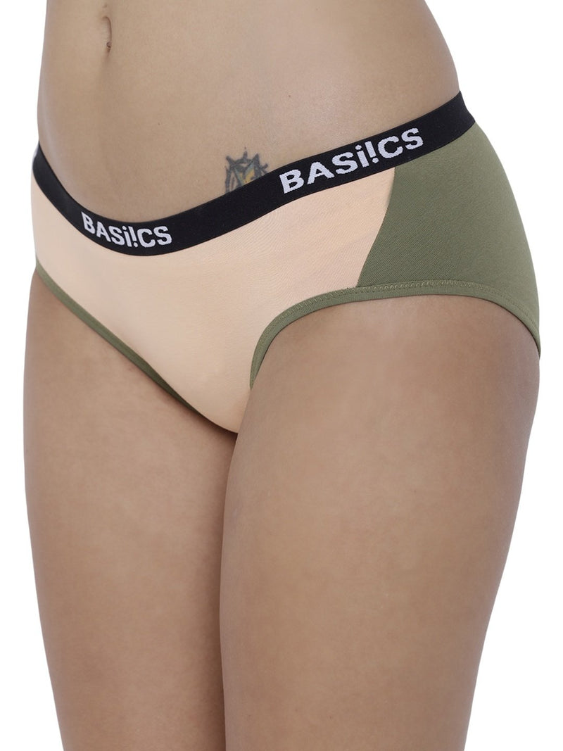 BASIICS Female Skin Picante Spicy  Hipster Panty