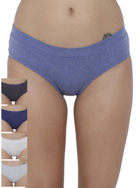 Coqueto Flirty Hipster Panty (Combo Pack of 5)