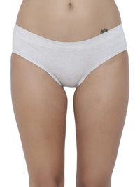 BASIICS Female Off White Melange Flirty Hipster Panty