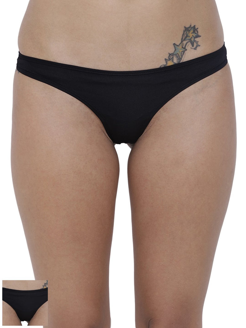 Spiffy Semi seamless Panty (Combo Pack of 2)