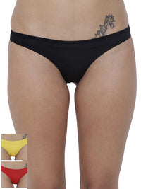 Spiffy Semi seamless Panty (Combo Pack of 3)