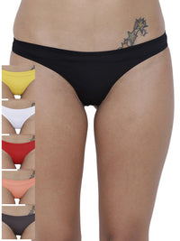 Spiffy Semi seamless Panty (Combo Pack of 6)