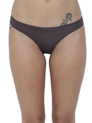 BASIICS Female Petrol Grey piffy Semiseamless Panty