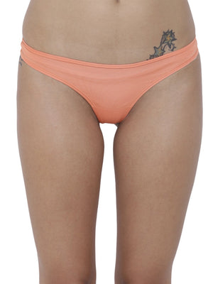 BASIICS Female Peach piffy Semiseamless Panty