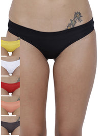 Amor Love Semi seamless Panty (Combo Pack of 6)
