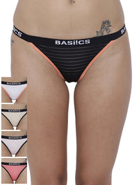 Caliente Hot Thong Panty (Combo Pack of 5)